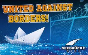 Seebrücke Veranstaltung United Against Borders